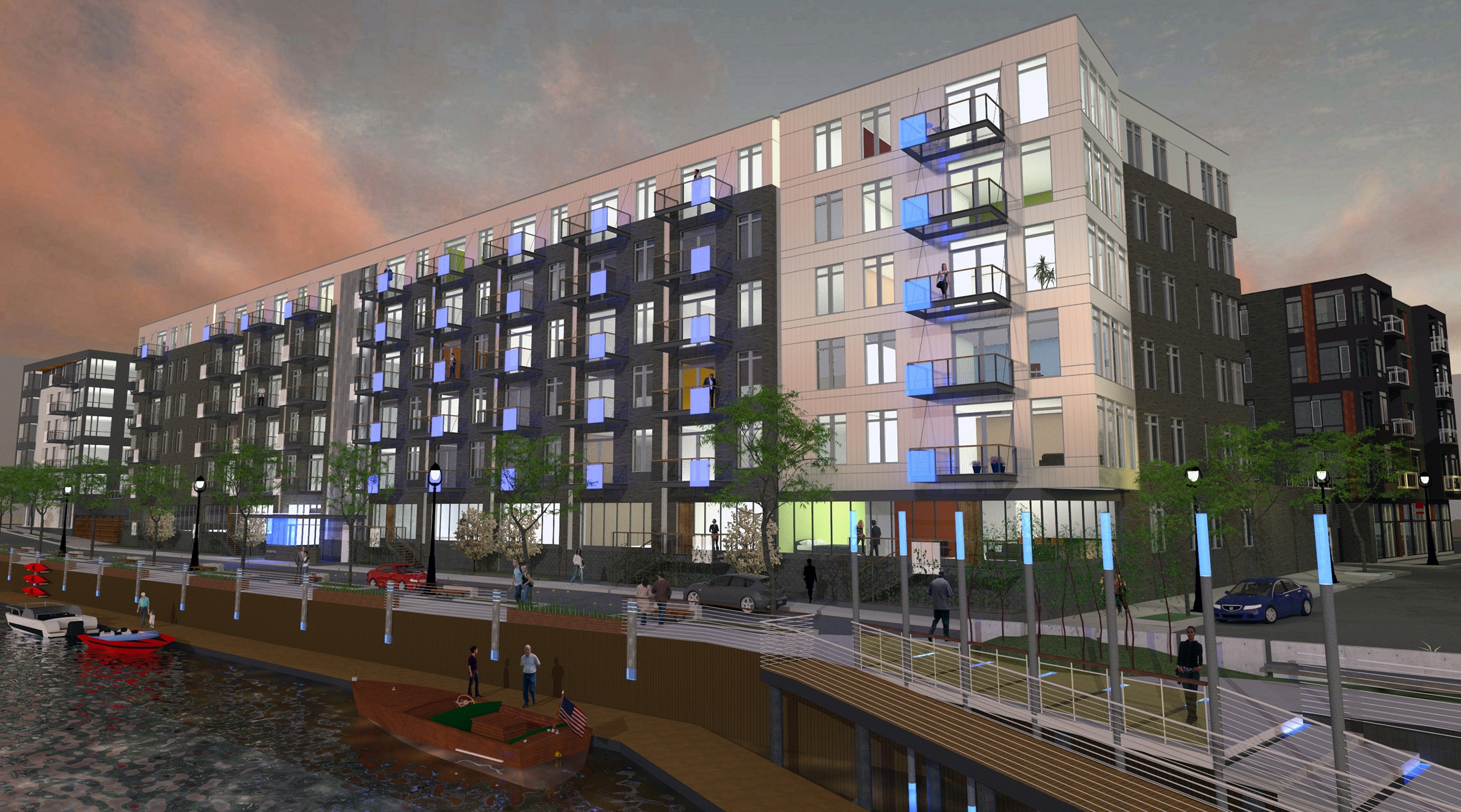 Mandel Group Receives $24 million of WHEDA financing for The North End Phase II (Renderings)
