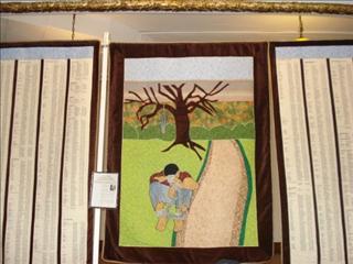 Ethel White - Strange Fruit Quilt