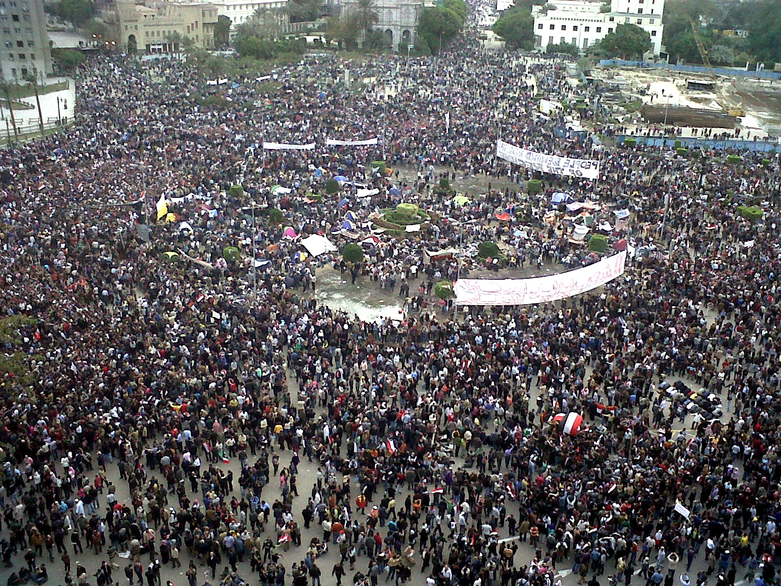 Tahrir Square - Photo by flickr user monasosh