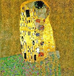 The Kiss - Painting by Gustav Klimt