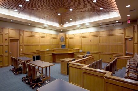 Dane County courtroom. Photo courtesy of Dane County
