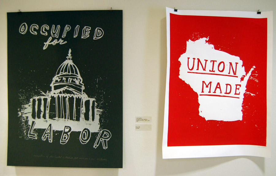 Prints by Colin Matthes of Justseeds.