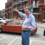 John Norquist in the Historic Third Ward