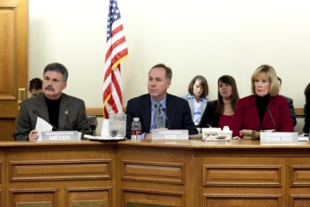 Rep. Robin Vos had a lot to say during the JFC's deliberations on the budget. Photo courtesy of Rep. Robin Vos