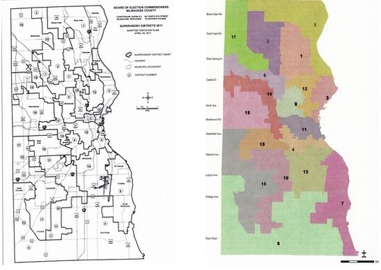 Redistricting Race Who Will Finish First  Urban Milwaukee