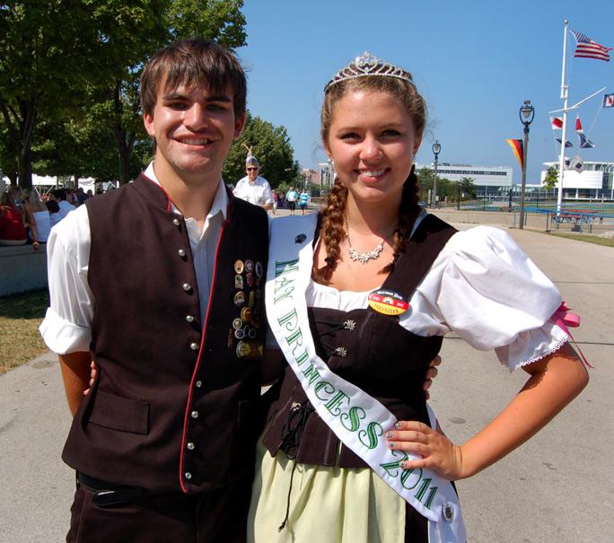 Germanfest Milwaukee May Princess