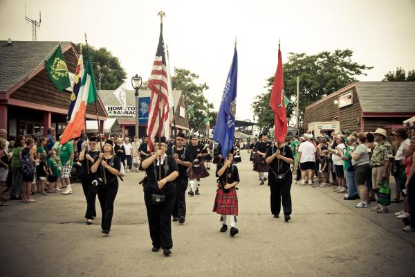 Irish Fest Parade Milwaukee