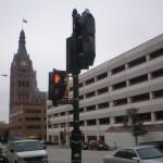 New Stoplights on Wells St.
