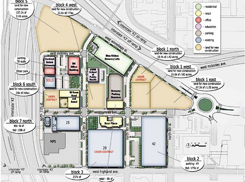 site plan (courtesy of The Brewery)