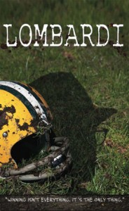Milwaukee Rep Lombardi Poster