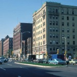 West Wisconsin Avenue in the 1974