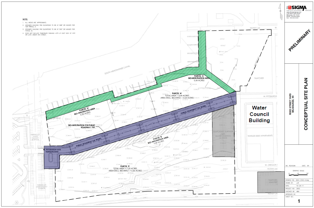 Reed Street Yards Zoning Change Approved at Committee