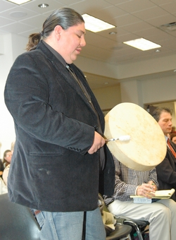 Native drummer