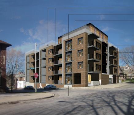 1601 N. Jackson St. Apartment Proposal