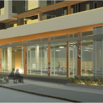 HSI East Side Library Proposal - Rendering 2 Entrance
