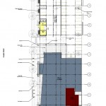 East Library Site Plan and Ground Floor