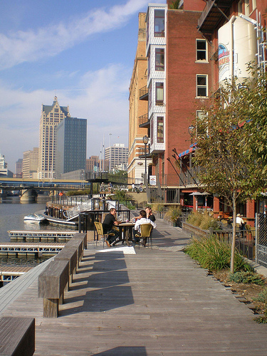 Riverwalk in the Historic Third Ward