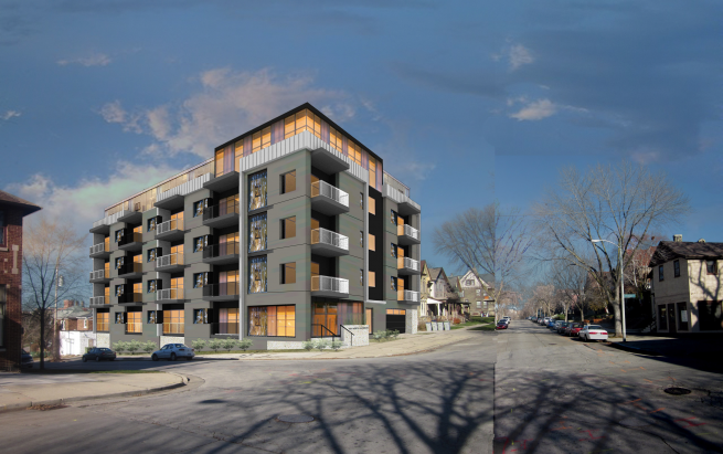 1601 N. Jackson St. Updated Rendering