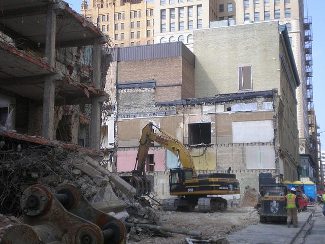 Marriott Hotel Site Demolition Work