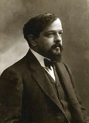 Claude Debussy. Photo is in the Public Domain.
