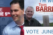 Scott Walker and Tom Barrett Encourage You to Vote