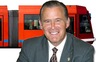 Mayor needs to put our money (streetcar) where his words are