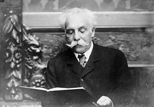 Gabriel Fauré. Photo is in the Public Domain.