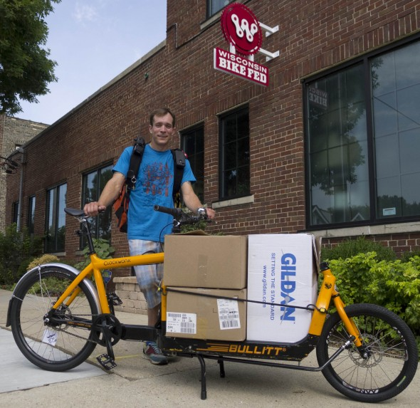 Bikes Milwaukee Wi Bike Czar Hauling Pecks and