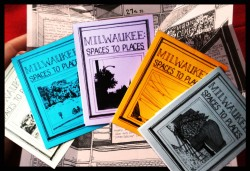 Milwaukee: Spaces to Places. Photo by Andrew Swat and Heidi Erstad and composed by Grace Fuhr. All Rights Reserved.