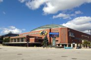 UW Milwakee Panther Arena, 400 W. Kilbourn Ave, Milwaukee, WI. Photo by Mariiana Tzotcheva