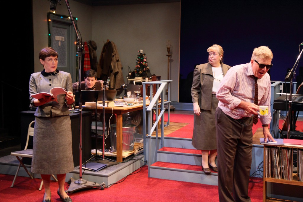 "Next Act will remount ""It's A Wonderful Life Live Radio Show"" this year, an adaptation of the classic movie framed around performers doing their last radio drama. Photo credit"