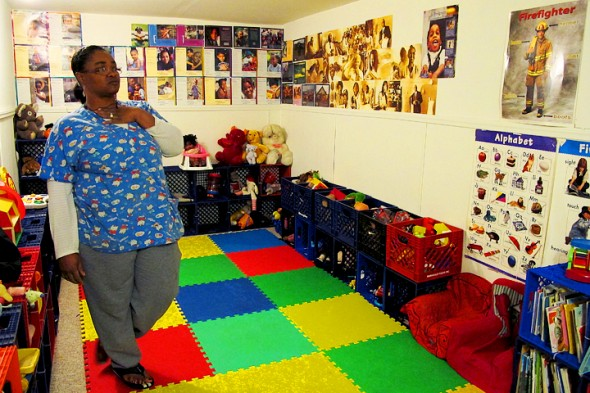 Linda Carter Brooks plans to shut down her two-star family day care in Lindsay Heights. (Photo by Matthew Bin Han Ong)