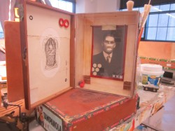 Assemblage Box. Photo by Marley Flueger.