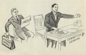 Efficiency Bureau: Committee Hearing