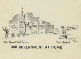 Efficiency Bureau: Government at Home