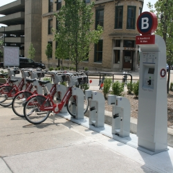 Eyes on Milwaukee: Bike Sharing and Permeable Pavement