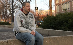 Eric Tomlinson of Madison, in and out of jail, said he struggled with suicidal thoughts but never saw a counselor in jail. Rory Linnane/Wisconsin Center for Investigative Journalism