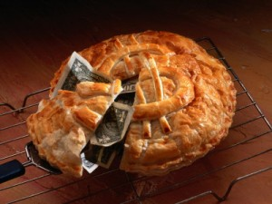 A smaller slice of the pie.