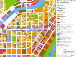 Brady Street BID Map