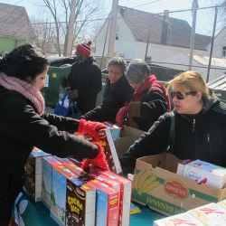 Thousands of Pounds of Free Food Distributed