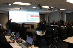 MPD Weekly CompStat Meeting. Photo by Mark Doremus.