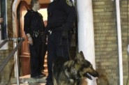 Milwaukee Police Department conducting a search.