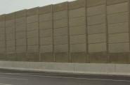 Sound Wall. Photo by Gretchen Schuldt.