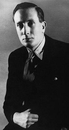 William Walton in 1928. Public domain via Wikipedia Commons.