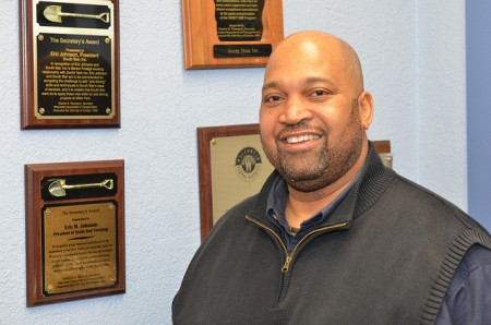 George Lawrence is executive director of the Wisconsin Chapter of the National Association of Minority Contractors. (Photo by Sue Vliet)
