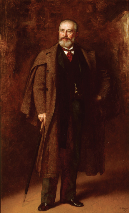 Portrait of Frederick Layton (1893) by Eastman Johnson (American, 1824–1906). Oil on canvas. Milwaukee Art Museum, Layton Art Collection, Gift of Marshall and Ilsley Bank. Photo: Dedra Walls