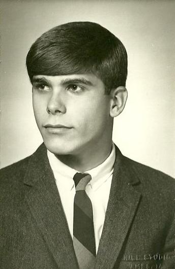 Mark Foreman's high school graduation photo.