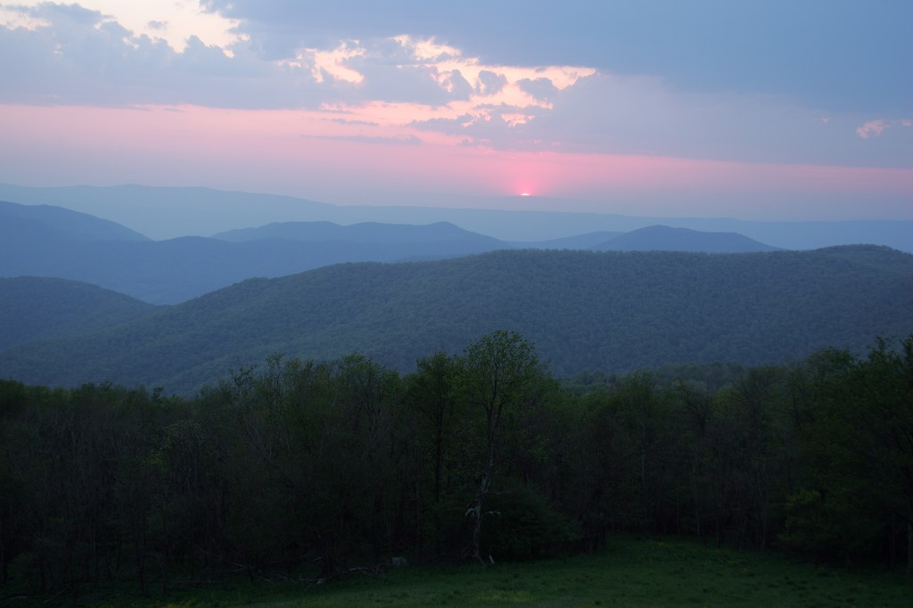 Blue Ridge Mountains - credit Bruce Henderson