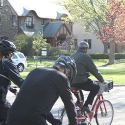 Photo Gallery: Mayor Barrett Bikes to Work!