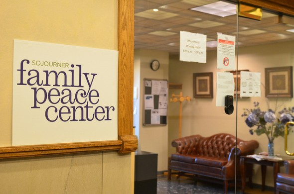 Sojourner Family Peace House serves victims of domestic violence. (Photo by Sue Vliet).